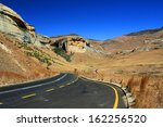 ������, ������: Empty asphalt road in