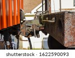 Old Rusted Coupling Assembly...