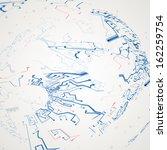 futuristic technology... | Shutterstock . vector #162259754