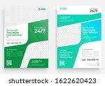 medical flyer template design ...   Shutterstock .eps vector #1622620423