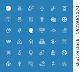 editable 36 ecology icons for... | Shutterstock .eps vector #1622685070