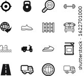 sport vector icon set such as ...   Shutterstock .eps vector #1622701000