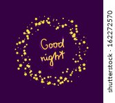 Good night card stock vector 162272570 shutterstock m4hsunfo