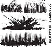 ink splash. brush stroke... | Shutterstock .eps vector #1622806360