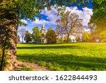 Spring View In Letna Park ...