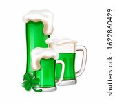 St Patrick\'s Day Green Beers...