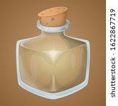 magic potion empty bottle game...