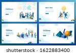trendy flat illustration. set... | Shutterstock .eps vector #1622883400