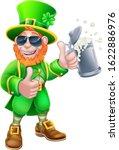 a leprechaun st patricks day... | Shutterstock .eps vector #1622886976