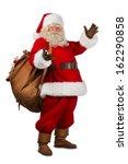 Real Santa Claus Carrying Big...