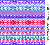 geometric pattern in ethnic... | Shutterstock .eps vector #162292850