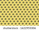 Vitamin d pattern on yellow...