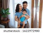 portrait of asian happy family... | Shutterstock . vector #1622972980