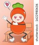 illustration of cute vegetable...