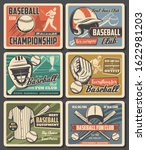 Baseball Sport Fun Clubs And...