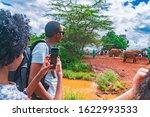 Karen  Nairobi  Kenya. Tourist...