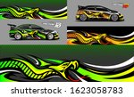 car wrap design vector  truck... | Shutterstock .eps vector #1623058783