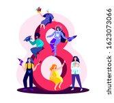international women day... | Shutterstock .eps vector #1623073066