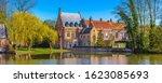Bruges  Belgium Minnewater Lake ...