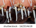 multicolor bakery ball on stick | Shutterstock . vector #162314618