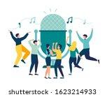 vector illustration  news ... | Shutterstock .eps vector #1623214933