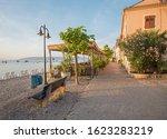Idyllic Seaside Promenade ...
