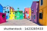 burano island in venice  italy | Shutterstock . vector #1623285433