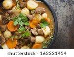 irish stew  made with lamb ... | Shutterstock . vector #162331454