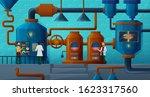 beer factory  brewery vector... | Shutterstock .eps vector #1623317560