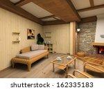 Spa Restroom Modern  Interior...