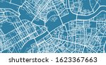 detailed vector map of saint... | Shutterstock .eps vector #1623367663