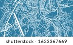 detailed vector map of salzburg ... | Shutterstock .eps vector #1623367669