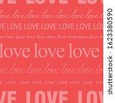 seamless romantic pattern for...   Shutterstock .eps vector #1623380590