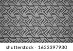 the geometric pattern with...   Shutterstock .eps vector #1623397930