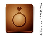 brown wedding rings icon... | Shutterstock .eps vector #1623458926