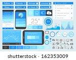 ui flat design elements for web ...