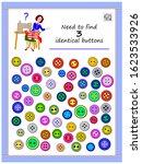 logic puzzle game for children... | Shutterstock .eps vector #1623533926
