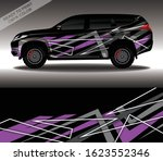 car wrap decal design vector ... | Shutterstock .eps vector #1623552346