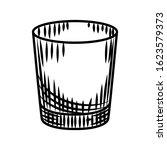 doodle vodka shot isolated on... | Shutterstock .eps vector #1623579373
