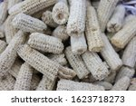 Lots Of Corncobs  Garbage From...