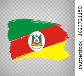 flag of  rio grande do sul from ...