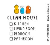 clean house checklist  kitchen  ...