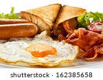 English Breakfast   Toast  Egg...