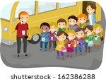 illustration of a man giving...   Shutterstock .eps vector #162386288