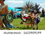 Native American Powwow In...