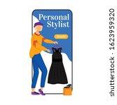 personal stylist cartoon...