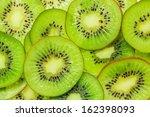 Fresh Kiwi Fruit Sliced Use For ...