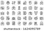 pr specialist icons set.... | Shutterstock .eps vector #1624090789