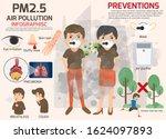 environmental pollution...   Shutterstock .eps vector #1624097893