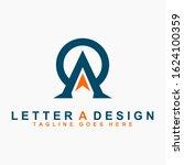 a logo modern template design... | Shutterstock .eps vector #1624100359